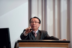 Simon Heung of the Hong Kong Digital Broadcasting Consortium , a champion of DAB+ speaking at WorldDMB's General Assembly 2011