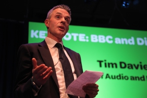 Tim Davie (acting Director General of the BBC) spoke at the Drive to Digital event that attracted over 300 delegates from the broadcasting and automotive industry
