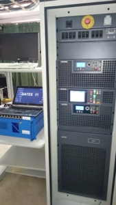 Gates Air Maxiva VAX  transmitter in action at the DAB trial  Abu Dhabi