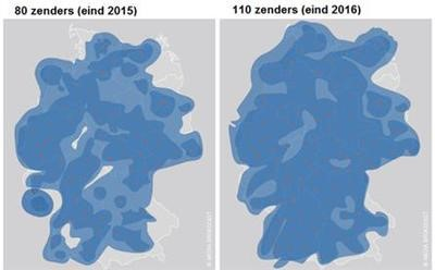 Expansion of outdoor coverage in Germany by 2016