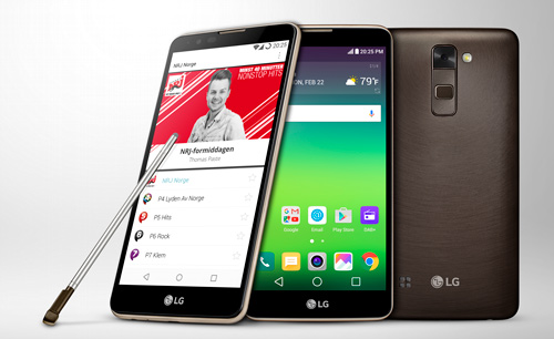 LG Stylus 2 the world's first DAB+ smartphone