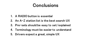 UX Research Overview - Conclusions
