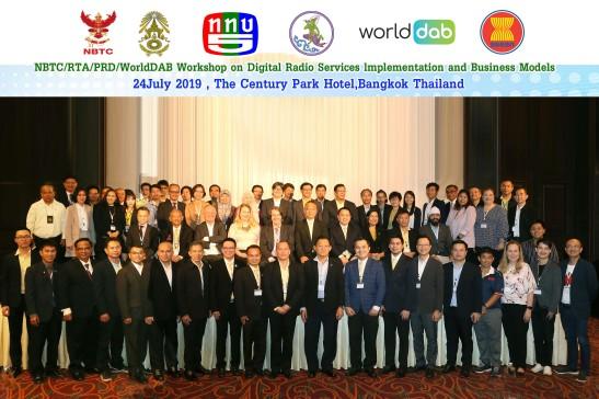 WorldDAB NBTC RTA PRD DAB+ workshop Bangkok 25 July 2019